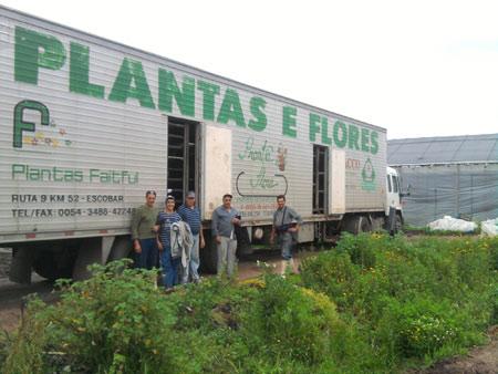 camión de carga flores musacco